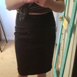 Apt. 9 black business casual skirt